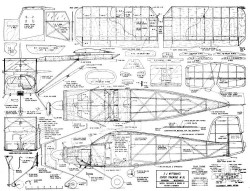 Super Tailwind W-9L model airplane plan